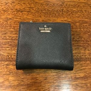 Kate Spade Black Adalyn Leather Wallet